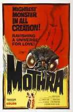 Mothra 1962 Poster 01 A3 Box Canvas Print
