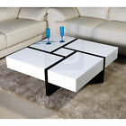 "Brand New ""Cubic"" High Gloss Coffee Table Living Room Furniture"