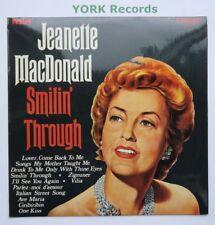 JEANETTE MacDONALD - Smilin' Through - Ex Con LP Record RCA Camden CDM 1006