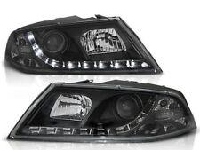 LED HEADLIGHTS LPSK10 SKODA OCTAVIA MK II 2004 2005 2006 2007 2008 XENON BLACK