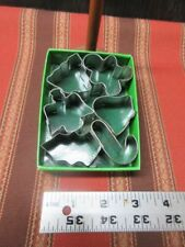 Lot of 6 Mini Cookie Cutters for Christmas