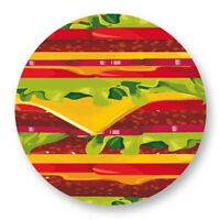 Magnet Aimant Frigo Ø38mm Hamburger Burger Sandwich Restauration Rapide