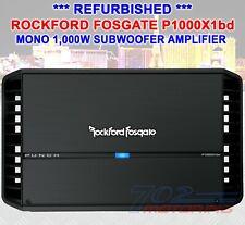 ROCKFORD FOSGATE PUNCH P1000X1bd 1000 WATT RMS MONO CAR AMP CLASS AB REFURBISHED