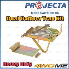 Mazda BT50 2007 - 2011 Auto PROJECTA Dual Battery Tray Auxiliary Complete Kit