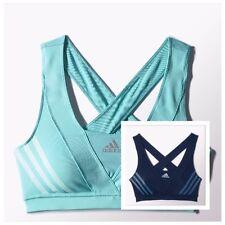 Adidas Supernova Racer Ladies Sports Bra   Green or Navy Size8     RRP£30