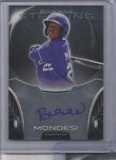 Raul Mondesi 2013 Bowman Sterling Prospects Royals ROOKIE RC Autograph Auto QTY