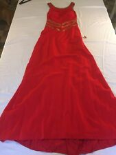 Peak Evenings Size 12 Red Prom Pageant Dress