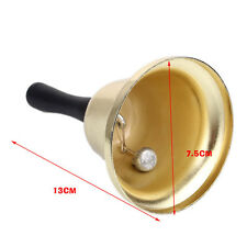 Gold Hand held Bells Call tea jingle Bells Build Ringtones Christmas toys UK