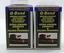 NEW Q Bond Repair Kit Small Quick Bonding Adhesive 2 Pack FREE SHIPPING