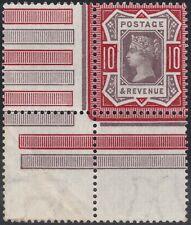 1890 JUBILEE SG210 10d PURPLE AND DEEP CARMINE UNMOUNTED MINT CORNER MARGINAL