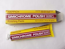 Simichrome Polish 50 Grams Tube Happich Bakelite Test Metal Cleaner Silver Brass