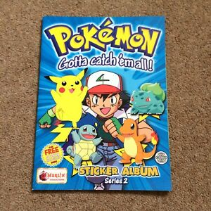 Pokemon Series 2 Merlin Sticker Album