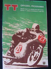 Program Dutch TT Assen 27 juni 1970 (TTC)