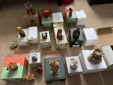 Boyds Bears treasure boxes lot of 14