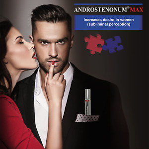 ANDROSTENONUM MAX 100% Pheromone for men 8ml roll-on for him attract women sex