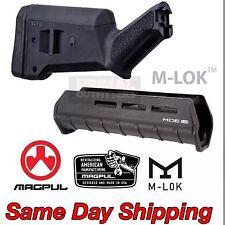 M-LOK Magpul Mossberg 500/590 SGA Stock Forend Combo Black MAG490 MAG494BLK
