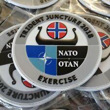 NATO EXERCISE TRIDENT JUNCTURE 2018 -  3D PVC PATCH