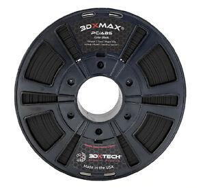 3DXTECH 3DXMAX 3D Printer Filament 1.75mm 500g 1.1lbs  PC / ABS - FREE SHIPPING