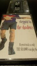 THE SHADOWS - STEPPIN TO THE SHADOWS - CASSETTE TAPE ALBUM