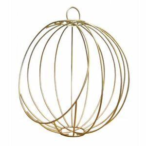 Wire metal basket 30cm ball wire frame flowerpot iron pot hanging planter succul