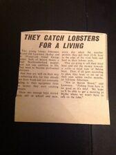 L1-8 Ephemera 1963 Article Lawrence Hedley George Baxter Season Sluice Fishing