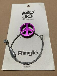 Bicycle Cable Hanger (Ringle MO JO ) with traverse cable