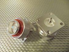 Bird 43 Thruline Wattmeter QC Connectors 4240-363 7/16 DIN Male / Military Specs
