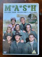 M. A. S.H.Saison 4 DVD Coffret Mash Classique US Comédie Série 3 Disques