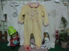 vêtements occasion fille 12 mois,3 grenouillère velours
