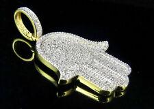 Collares y colgantes de joyería con diamantes amarillo