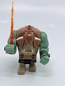 LEGO CAS358 FANTASY ERA TROLL DARK TAN WITH COPPER ARMOUR