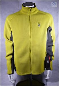 NEW SPYDER FOREMOST INSULATED HEAVY WEIGHT CORE SWEATER JACKET MENS L