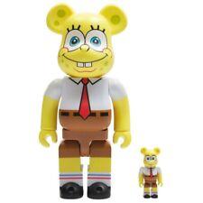 Medicom Be@Rbrick Nickelodeon SpongeBob SquarePants 100% 400% Bearbrick Figure S