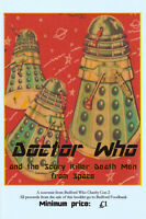 Fanzine: Doctor Who and the Scary Killer Death Men. V funny, new! 100%4Charity!