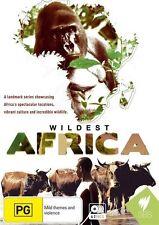 Wildest Africa (DVD, 2012, 4-Disc Set)-REGION 4-Brand new-Free postage