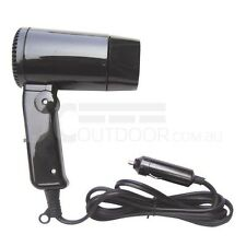 12V Hair Dryer and Windscreen Defroster for Outdoor Activities - DUAL SPEEDS