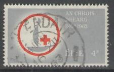 IRELAND SG197 1963 RED CROSS 4d FINE USED