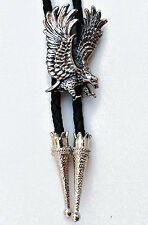 Large Flying Eagle Bolo Tie Bootlace ~ Line Dance Ware Western Fashion Accessory