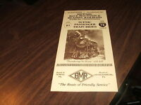 BLUE MOUNTAIN & READING RAILROAD BROCHURE
