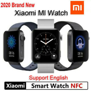 2020 New Xiaomi MI Smart Watch GPS NFC Bluetooth Heart Rate Monitor Tracker