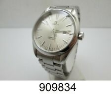 Omega Men's Seamaster Aqua Terra Stainless Steel Silver Face 39mm Watch
