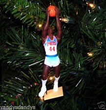 derrick COLEMAN new jersey NETS basketball NBA xmas TREE ornament HOLIDAY vtg