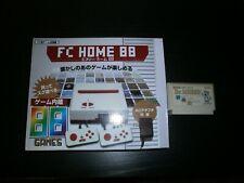 Console FC HOME 88 complète (avec port cartouche Famicom) + jeu Dr. MARIO