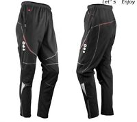 Men's Thermal Winter Cycling Waterproof Pants Bike/Bicycle Windproof Trousers 04