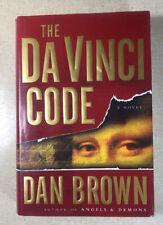 "Signed & Inscribed Dan Brown's ""The DaVinci Code"" 9th Ed - HC/DJ - Clean VG+!"