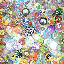 Lot of 200 Pogs / Milk Caps + Slammer Unsorted! Retro Game Nostalgia! Skull Bone