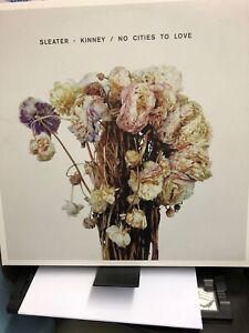Sleater-Kinney-No Cities to Love Near Mint Vinyl Lp Gatefold Indie Rock