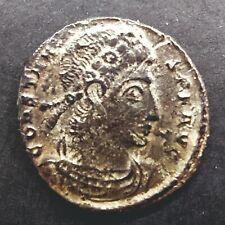 Follis Constantius II GLORIA EXERCITVS Siscia AD 337-341 Rare Scarce Coin Rome