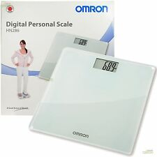 Omron Personal Digital Body Weight Bathroom Weighing Scales + LCD Display, HN286