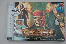 PIRATES OF THE CARIBBEAN: DEAD MAN'S CHEST DVD Board Game Complete Very Good